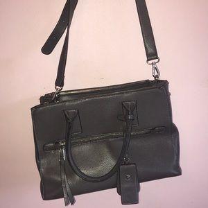 Dark grey purse